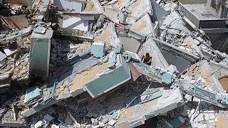 لقطات جوية توثق الدمار الهائل في غزة