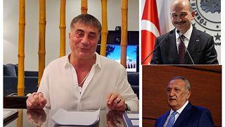 Sedat Peker, Süleyman soylu, Mehmet Ağar