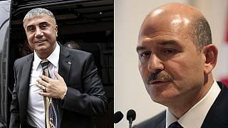 Sedat Peker (solda), Süleyman Soylu (sağda)