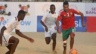 Les Lions sénégalais se préparent pour la coupe d'Afrique de beach soccer