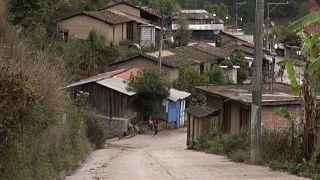 Imagen de una calle de la localidad de Juquila Yuvinani, en el estado de Guerrero, en el sur de México