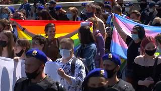 Ukraine march in support of more transgender rights