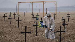 Latin Amerika ülkeleri ile Karayipler'de Covid-19 vakaları ve virüse bağlı can kayıpları 1 milyonu aştı