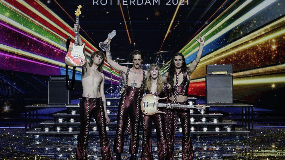 Eurovision 2021: Italy's Maneskin wins after massive public vote