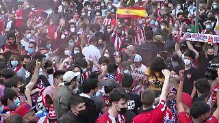 L'Atlético Madrid vainqueur de la Liga