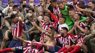 Атлетико Мадрид стал чемпионом Испании по футболу