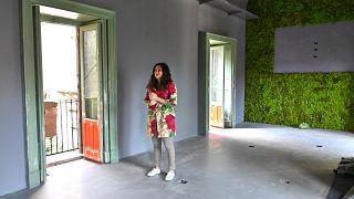 """إيلينا ميليتيلو إحدى المشاركات في تأسيس جميعة """"العمل في الجنوب"""""""