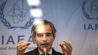 مدير الوكالة الدولية للطاقة الذرية رافائيل ماريانو غروسي