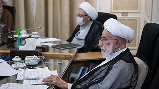 احمد جنتی و صادق لاریجانی در نخستین جلسه بررسی صلاحیت نامزدها در شورای نگهبان