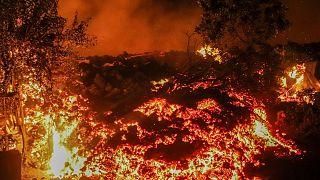 فوران آتشفشانی در کنگو