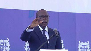 Benin's President Patrice Talon sworn in