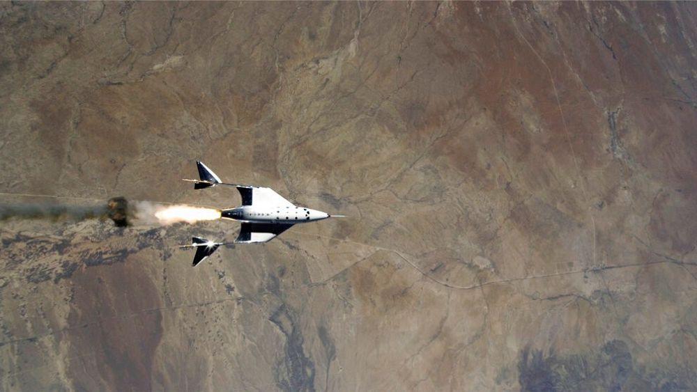 Virgin Galactic melakukan uji terbang pertama di New Mexico ke luar angkasa