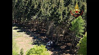 Italie : quatorze morts et un blessé grave dans la chute d'un téléphérique à Stresa