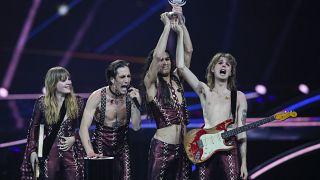 Eurovision 2021: Ενθουσιασμός στην Ιταλία για την νίκη των Måneskin