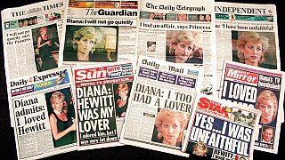 Diana'nın röortajına yönelik manşetler