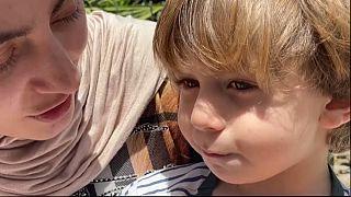 Ahmad, survivant de Gaza, 2 ans