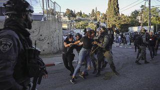 صورة من حي الشيخ جراح في القدس المحتلة