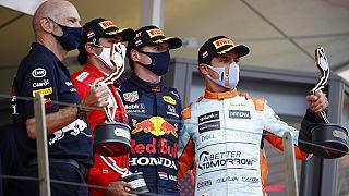 Η τριάδα των νικητών στο GP του Μονακό