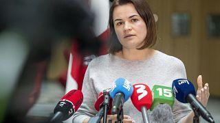 Светлана Тихановская осудила инцидент с арестом Протасевича