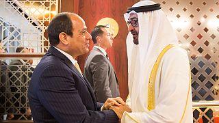Abu Dabi Veliaht Prensi Muhammed bin Zayid el Nahyan // Mısır Cumhurbaşkanı Abdulfettah el Sisi