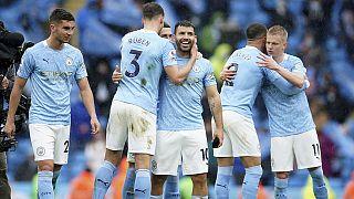 Manchester City, konuk ettiği Everton'ı 5-0 yendi