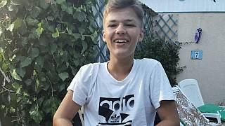 Der ermordete Matteo - Foto von der Familie ausgehändigt