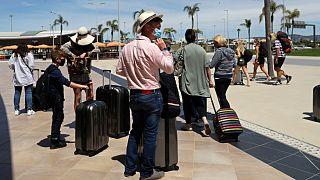 مسافرون بريطانيون في البرتغال
