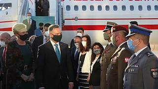 Polonya Cumhurbaşkanı Andrzej Duda, Ankara'da
