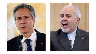 محمد جواد ظریف و آنتونی بلینکن