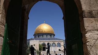 مجمع المسجد الأقصى في القدس، ثالث أقدس مواقع الإسلام.