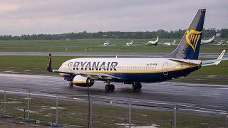 Самолет, выполнявший рейс Афины-Вильнюс, с Романом Протасевичем на борту