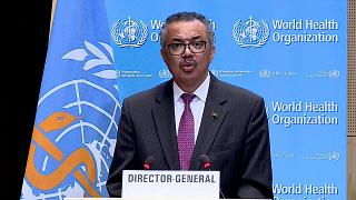 المدير عام منظمة الصحة العالمية تيدروس أدهانوم غيبرييسوس