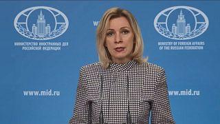 Maria Zaharova orosz külügyi szóvivő