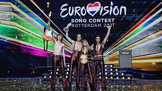 Eurovision'u kazanan İtalyan grup Maneskin