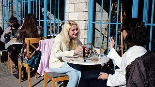 Ankara'da bir kafe