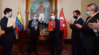 Türkiye ve Venezuela arasında anlaşma
