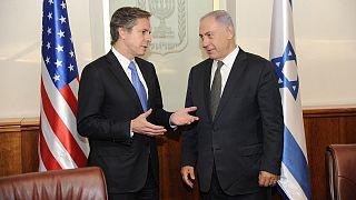 Blinken ve Netanyahu