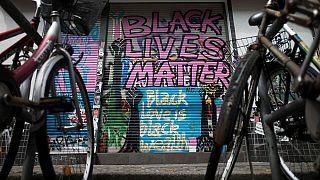 """""""Black Lives Matter""""-Proteste gab es in ganz Europa nach dem Tod von George Floyd"""