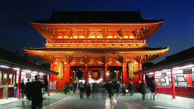 Senso-ji is the oldest temple in Tokyo