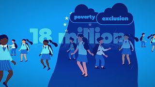 Armut in Europa: Fast jedes vierte Kind ist betroffen