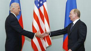 Biden e Putin encontram-se em Genebra em junho