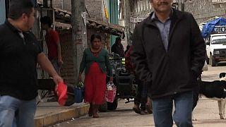 Straßenszene im mexikanischen Bundesstaat Guerrero