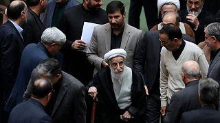 Ayatollah Ahmad Jannati, secretary of the Guardian Council, Iran