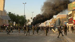 مصادر طبية وأمنية: مقتل متظاهر في بغداد إثر إصابته بطلق ناري