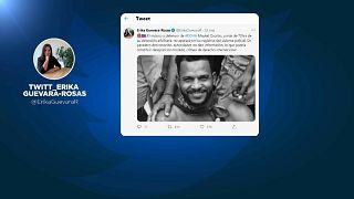 Captura de un Tuit de Erika Guevara-Rosas, de Amnistía Internacional