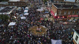 Εκδηλώσεις μνήμης για τον ένα χρόνο από το θάνατο του Τζόρτζ Φλόιντ