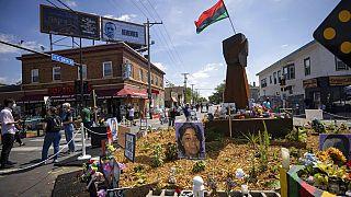 Τελετή στη μνήμη του Τζορτζ Φλόιντ στη Μινεάπολις