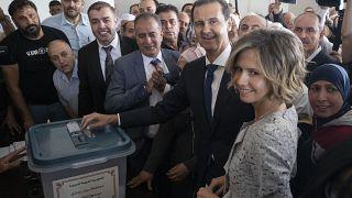 الأسد يدلي بصوته في الانتخابات الرئاسية السورية