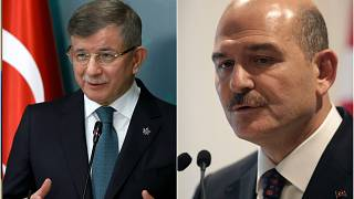 Gelecek Partisi Genel Başkanı Davutoğlu, İçişleri Bakanı Süleyman Soylu