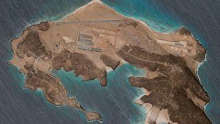 ساخت پایگاه هوایی در جزیره مایون واقع در تنگه بابالمندب